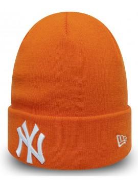 New Era - New York Yankees Essential Cuff Knit Orange