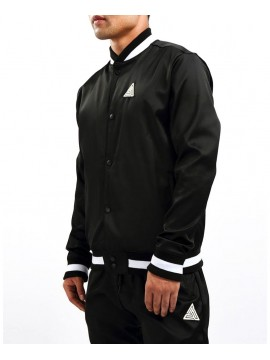 Black Pyramid - Veste Polar Satin Noir