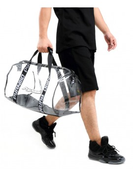 Black Pyramid - Clear Duffle Bag