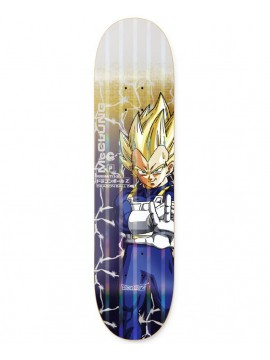 Primitive x Dragon Ball Z - Planche De Skate Trent McClung Vegeta Power Level