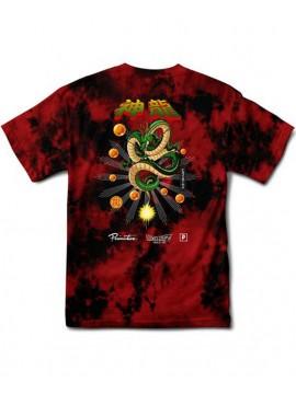 Primitive x Dragon Ball Z - Shenron Wish T-Shirt Tie Dye Rouge/Noir