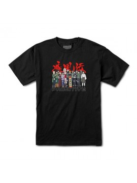 Primitive x Naruto Shippuden - Leaf Village Tee Black