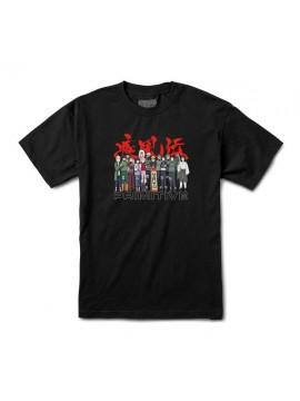 Primitive x Naruto Shippuden - T-Shirt Leaf Village Noir