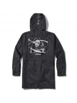 Primitive x Naruto Shippuden - Naruto Uzamaki Parka Jacket Black