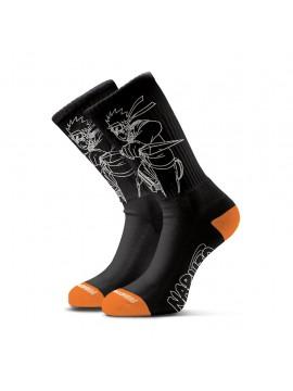 Primitive x Naruto Shippuden - Uzumaki Sock Black