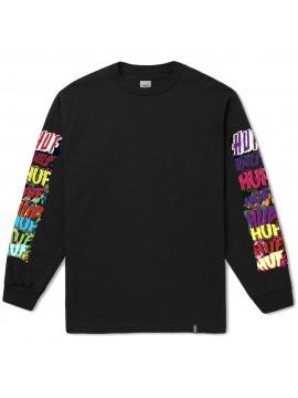 HUF - T-Shirt Manches Longues Cinema Noir