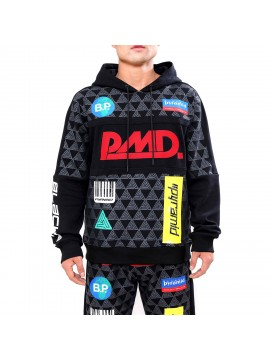 Black Pyramid - Grand Prix Hoody Black